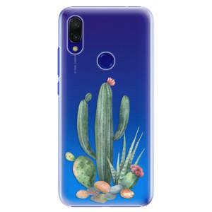 Plastové pouzdro iSaprio Kaktusy 02 na mobil Xiaomi Redmi 7