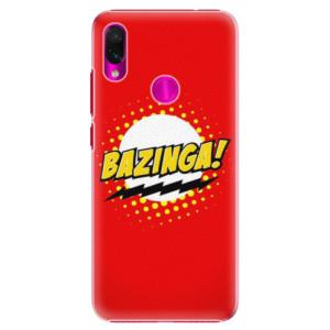 Plastové pouzdro iSaprio Bazinga 01 na mobil Xiaomi Redmi Note 7