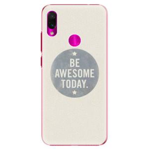 Plastové pouzdro iSaprio Awesome 02 na mobil Xiaomi Redmi Note 7