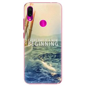 Plastové pouzdro iSaprio Beginning na mobil Xiaomi Redmi Note 7