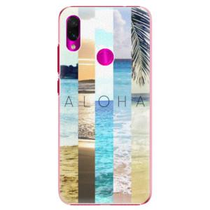 Plastové pouzdro iSaprio Aloha 02 na mobil Xiaomi Redmi Note 7