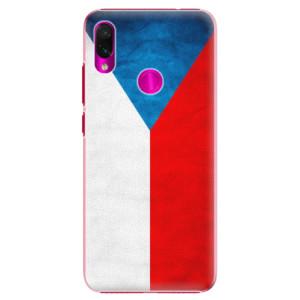 Plastové pouzdro iSaprio Česká Vlajka na mobil Xiaomi Redmi Note 7