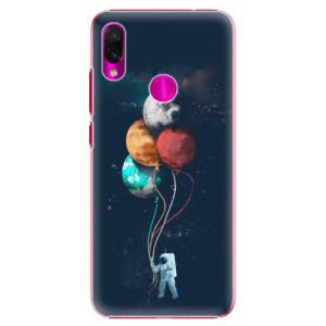 Plastové pouzdro iSaprio Balónky 02 na mobil Xiaomi Redmi Note 7