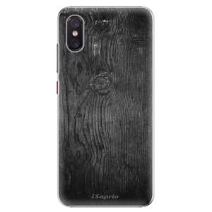 Plastové pouzdro iSaprio Black Wood 13 na mobil Xiaomi Mi 8 Pro