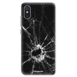 Plastové pouzdro iSaprio Broken Glass 10 na mobil Xiaomi Mi 8 Pro