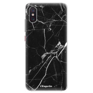 Plastové pouzdro iSaprio Black Marble 18 na mobil Xiaomi Mi 8 Pro
