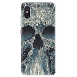 Plastové pouzdro iSaprio Abstract Skull na mobil Xiaomi Mi 8 Pro