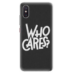 Plastové pouzdro iSaprio Who Cares na mobil Xiaomi Mi 8 Pro
