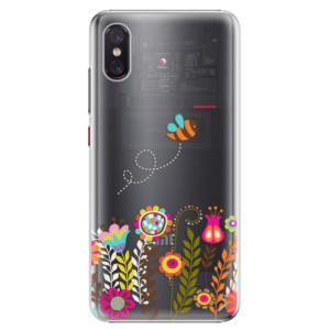 Plastové pouzdro iSaprio Včelka Pája 01 na mobil Xiaomi Mi 8 Pro