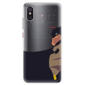 Plastové pouzdro iSaprio BaT Komiks na mobil Xiaomi Mi 8 Pro