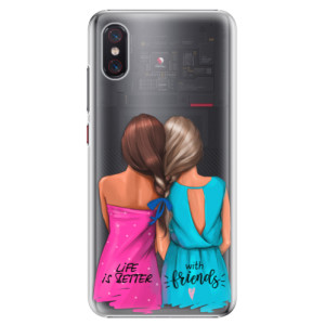 Plastové pouzdro iSaprio Best Friends na mobil Xiaomi Mi 8 Pro
