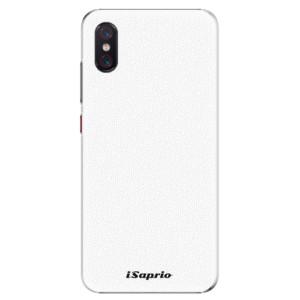 Plastové pouzdro iSaprio 4Pure bílé na mobil Xiaomi Mi 8 Pro