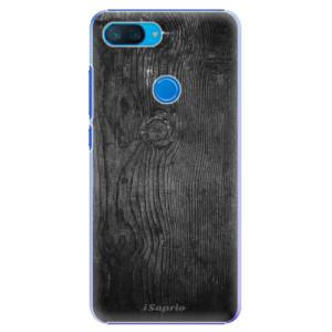 Plastové pouzdro iSaprio Black Wood 13 na mobil Xiaomi Mi 8 Lite