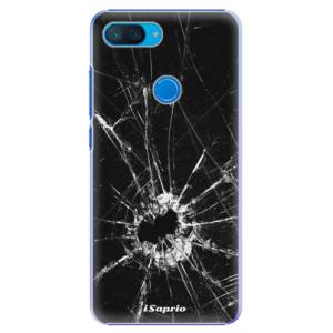 Plastové pouzdro iSaprio Broken Glass 10 na mobil Xiaomi Mi 8 Lite