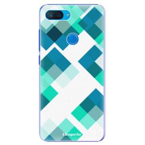 Plastové pouzdro iSaprio Abstract Squares 11 na mobil Xiaomi Mi 8 Lite