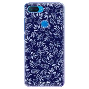 Plastové pouzdro iSaprio Blue Leaves 05 na mobil Xiaomi Mi 8 Lite