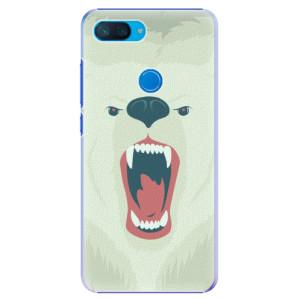 Plastové pouzdro iSaprio Naštvanej Medvěd na mobil Xiaomi Mi 8 Lite