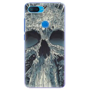 Plastové pouzdro iSaprio Abstract Skull na mobil Xiaomi Mi 8 Lite