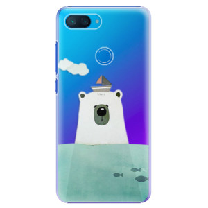Plastové pouzdro iSaprio Medvěd s Lodí na mobil Xiaomi Mi 8 Lite