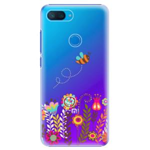 Plastové pouzdro iSaprio Včelka Pája 01 na mobil Xiaomi Mi 8 Lite