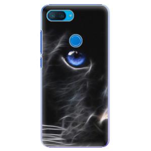 Plastové pouzdro iSaprio Black Puma na mobil Xiaomi Mi 8 Lite