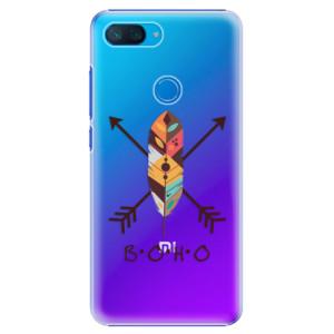Plastové pouzdro iSaprio BOHO na mobil Xiaomi Mi 8 Lite