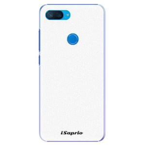 Plastové pouzdro iSaprio 4Pure bílé na mobil Xiaomi Mi 8 Lite