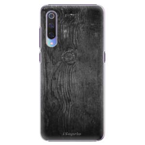 Plastové pouzdro iSaprio Black Wood 13 na mobil Xiaomi Mi 9