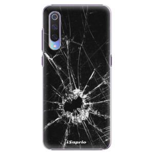Plastové pouzdro iSaprio Broken Glass 10 na mobil Xiaomi Mi 9