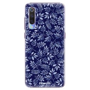 Plastové pouzdro iSaprio Blue Leaves 05 na mobil Xiaomi Mi 9