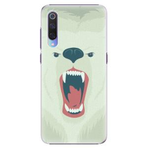 Plastové pouzdro iSaprio Naštvanej Medvěd na mobil Xiaomi Mi 9