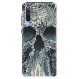Plastové pouzdro iSaprio Abstract Skull na mobil Xiaomi Mi 9