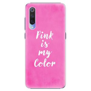 Plastové pouzdro iSaprio Pink is my color na mobil Xiaomi Mi 9