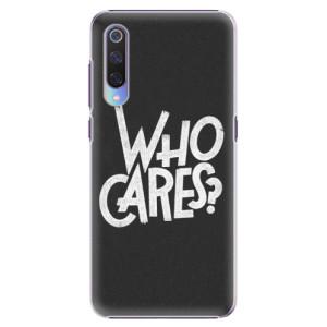 Plastové pouzdro iSaprio Who Cares na mobil Xiaomi Mi 9