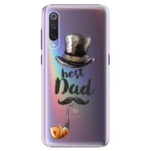 Plastové pouzdro iSaprio Best Dad na mobil Xiaomi Mi 9