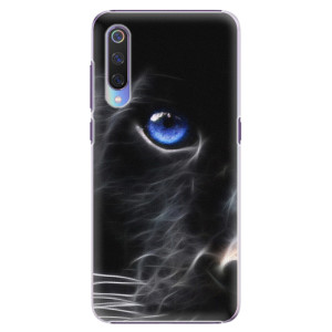 Plastové pouzdro iSaprio Black Puma na mobil Xiaomi Mi 9