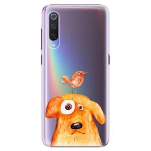 Plastové pouzdro iSaprio Pejsek a Ptáček na mobil Xiaomi Mi 9