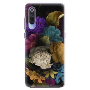 Plastové pouzdro iSaprio Temné Květy na mobil Xiaomi Mi 9
