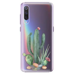 Plastové pouzdro iSaprio Kaktusy 02 na mobil Xiaomi Mi 9