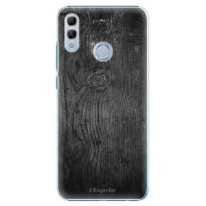 Plastové pouzdro iSaprio Black Wood 13 na mobil Honor 10 Lite