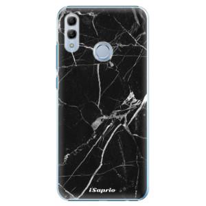 Plastové pouzdro iSaprio Black Marble 18 na mobil Honor 10 Lite