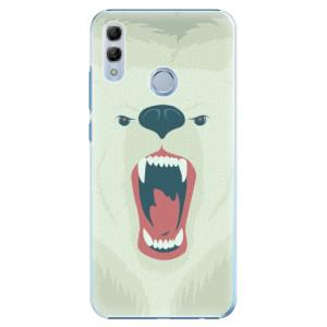 Plastové pouzdro iSaprio Naštvanej Medvěd na mobil Honor 10 Lite