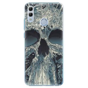 Plastové pouzdro iSaprio Abstract Skull na mobil Honor 10 Lite