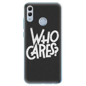 Plastové pouzdro iSaprio Who Cares na mobil Honor 10 Lite