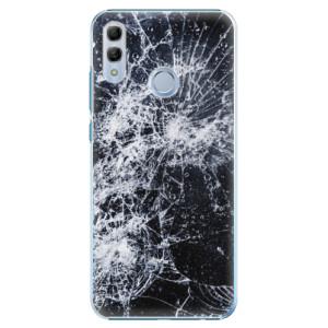Plastové pouzdro iSaprio Praskliny na mobil Honor 10 Lite