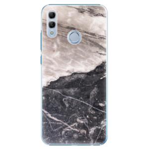 Plastové pouzdro iSaprio BW Mramor na mobil Honor 10 Lite