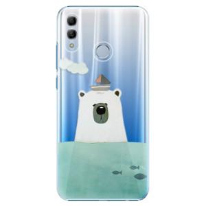Plastové pouzdro iSaprio Medvěd s Lodí na mobil Honor 10 Lite
