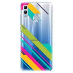 Plastové pouzdro iSaprio Barevné Pruhy 03 na mobil Honor 10 Lite