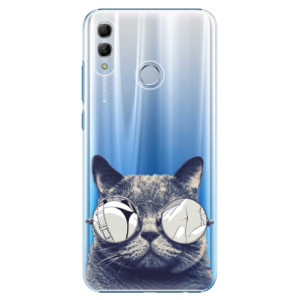 Plastové pouzdro iSaprio Šílená Číča 01 na mobil Honor 10 Lite