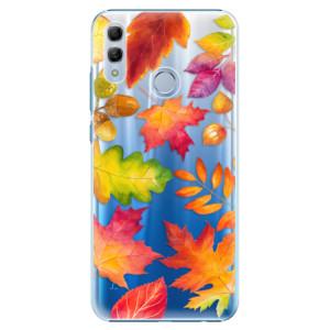 Plastové pouzdro iSaprio Podzimní Lístečky na mobil Honor 10 Lite
